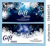 christmas and new year gift...   Shutterstock .eps vector #536460145