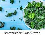 Green Vegetable  Leaves Of Kal...