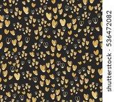 cute seamless vector pattern... | Shutterstock .eps vector #536472082