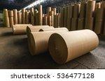 paper mill factory | Shutterstock . vector #536477128