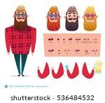 boy character for your scenes... | Shutterstock .eps vector #536484532
