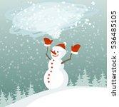vector illustration of an... | Shutterstock .eps vector #536485105