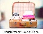 bag travel. | Shutterstock . vector #536511526