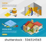 home renovation isometric... | Shutterstock .eps vector #536514565