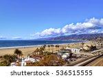 View To The Santa Monica Gulf...