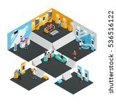 multistore interior template... | Shutterstock .eps vector #536516122