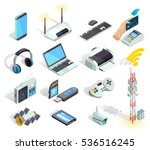 wireless connection technology... | Shutterstock .eps vector #536516245