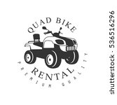 renting premium quality quad... | Shutterstock .eps vector #536516296