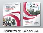 red color scheme with city... | Shutterstock .eps vector #536521666