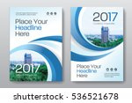 blue color scheme with city... | Shutterstock .eps vector #536521678