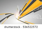 abstract graphic design  a... | Shutterstock .eps vector #536522572