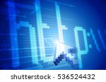 internet concept. raster... | Shutterstock . vector #536524432