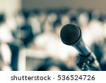 voice speaker microphone in... | Shutterstock . vector #536524726
