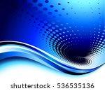 blue composition. raster... | Shutterstock . vector #536535136