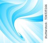 blue light abstraction. raster... | Shutterstock . vector #536535166