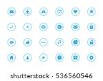 simple infographic icons set  ... | Shutterstock .eps vector #536560546