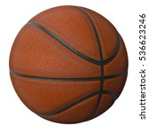 3d rendered basketball isolated ... | Shutterstock . vector #536623246