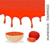 vector illustration of logo for ... | Shutterstock .eps vector #536640322