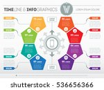 part of the report with logo... | Shutterstock .eps vector #536656366