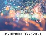 background festive new year...   Shutterstock . vector #536714575