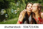 family happiness and carefree... | Shutterstock . vector #536721436