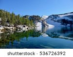 clear water and reflections.... | Shutterstock . vector #536726392