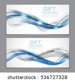 gift voucher template for... | Shutterstock .eps vector #536727328