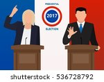 presidential election in france | Shutterstock .eps vector #536728792