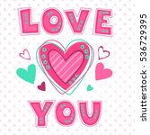 love you lettering template for ...