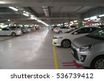 abstract blurred car in parking ... | Shutterstock . vector #536739412