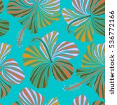 hand drawn seamless pattern... | Shutterstock .eps vector #536772166