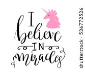 calligraphic inscription phrase ... | Shutterstock .eps vector #536772526