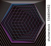 abstract polygonal background... | Shutterstock .eps vector #536804452