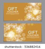 gift voucher template for... | Shutterstock .eps vector #536882416