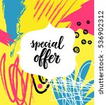Special Offer Sale Poster On...