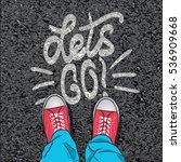 vector illustration top view on ...   Shutterstock .eps vector #536909668
