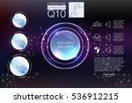 collagen solution drop ...   Shutterstock .eps vector #536912215
