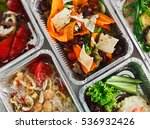 healthy food background. take... | Shutterstock . vector #536932426