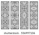 decorative doodle black lace...   Shutterstock .eps vector #536997106