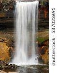 minehaha falls in minneapolis... | Shutterstock . vector #537023695