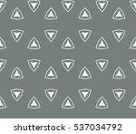 ornamental seamless pattern.... | Shutterstock .eps vector #537034792