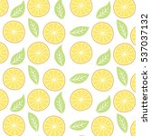 Orange Fruit Pattern Theme