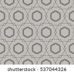 geometric shape abstract vector ... | Shutterstock .eps vector #537044326