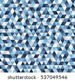 triangle pattern. seamless... | Shutterstock .eps vector #537049546