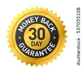 30 day money back guarantee...