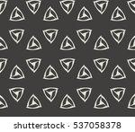 modern geometric seamless... | Shutterstock .eps vector #537058378