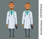 medical staff character  funny... | Shutterstock .eps vector #537059416