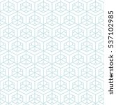 architectural pattern... | Shutterstock .eps vector #537102985