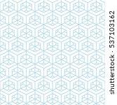 architectural pattern... | Shutterstock .eps vector #537103162