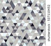 seamless pattern of geometric...   Shutterstock .eps vector #537110452